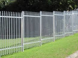 Secure Steel Palisade Fencing Silver View Ridge